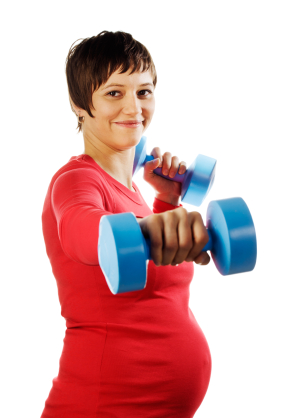 weight training for pregnant women